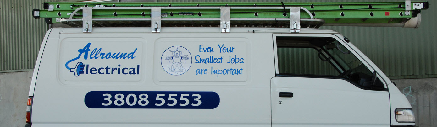allround electrical services mobile van